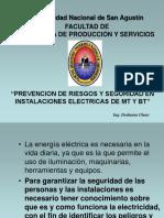 Prevencion de Riesgos y Seguridad en Instalaciones Electricas de Mt y Bt Chani
