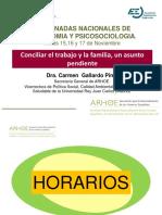 Conciliar El Trabajo y La Familia Carmen Gallardo