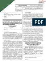Aprueban Plano de Zonificación de los Usos del Suelo del distrito y Reglamento de Zonificación de Usos de Suelo sobre el Área de Tratamiento Normativo I
