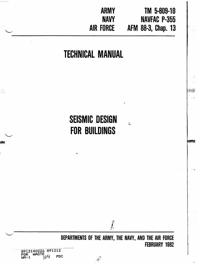 462208ca88 TM 5-809-10 | Framing (Construction) | Wall