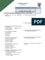 3ro Sec Evaluación de Formación Ciudadana y Cívica 2018