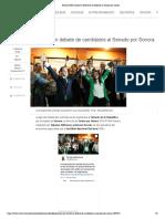 17/05/2018 Presume PRI triunfo en debate de candidatos al Senado por Sonora
