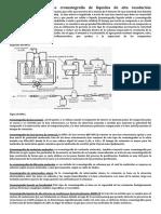Cromatografia HPLC o Cromatografía de Líquidos de Alta Resolución