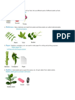 Uses of Plants