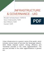 Urban Infrastructure & Governance - UIG