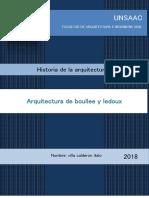 Arquitectura de Boullee y Ledoux - Copia