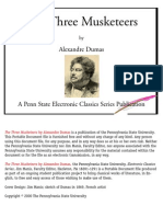 Alexander Dumas - The Three Musketeers