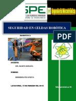 Seguridad Eñ Celda Robóticas