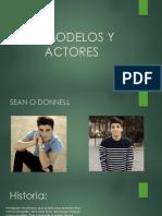 Antes y después de actores y modelos