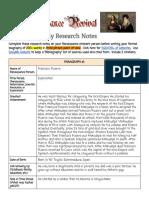 everett bandelin - biography research notes renaissance revival
