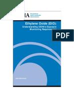 Osha Ethylene Oxide Limites de Exposicion
