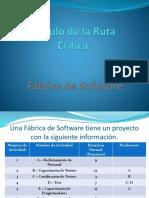CALCULO DE LA RUTA CRITICA.pptx