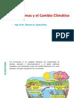 Ecosistemas y CC.