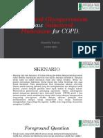 Indacaterol-Glycopyrronium Versus Salmeterol-Fluticasone for COPD PPT