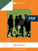 8. Job Shadow - Manualul Elevului