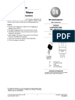 On Semiconductor MAC228A6G Datasheet 2