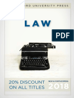 Law 2018 Catalog