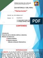 Geologia Historica y Del Peru Exposicion