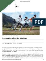 Las Series Al Estilo Keniano _ Running