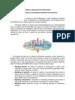 Marco Teórico Campaña Presidencial Vicente Fox