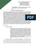 Proposta de trabalho para a disciplina de Ecologia da Produção da Vida na Amazônia
