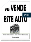 Se Vende Este Auto
