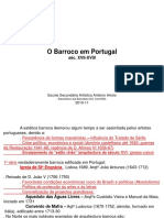 O Barroco Em Portugal