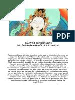 Cuatro Ensenanzas de Padmasambhava a La Dakini