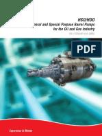 Flowserve HSO ps-30-8-e