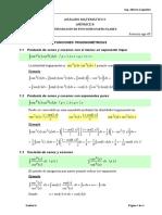 Análisis Matemático Apuntes Apéndice INTEGRACIÓN DE FUNCIONES PARTICULARES