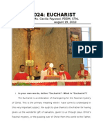 Padre Pio and the Eucharist