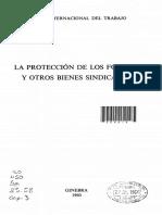 La Protección de los Fondos y Otros Bienes Sindicales