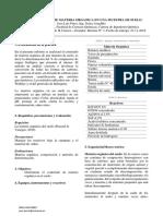 Practica 3 (Determinación de La Matería Orgánica)