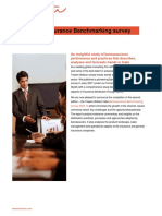 India Bancassurance Bench Marking Survey