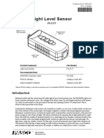 Ps 2177 Pasco Pasport Light Level Lux Sensor Manual