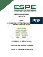 Redes Comunicacion Rs485