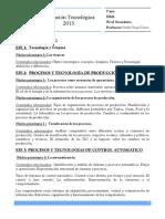 1ero Educacion Tecnologica 2015