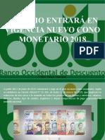 Víctor Vargas Irausquín - En Junio Entrará en Vigencia Nuevo Cono Monetario 2018