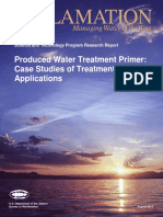 Produced Water Treatment Primer Case Studies of Treatment Applications