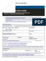 International Scholapp Form 2017