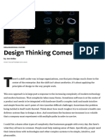 Design Thinking Comes of Age