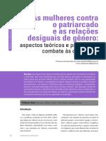 4 - As Mulheres Contra o Patriarcado