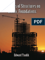 Preview of Analysis of Structures on Elastic Foundations