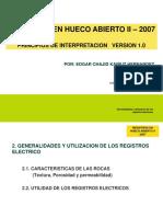 2. Registros en Hueco Abierto
