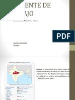 Accidente de Trabajo Bhopal