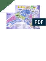 Mapa de Arica