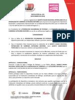 029 - Convoca a La v Valida Interclubes de Carreras de Mayores - Bogota (1)