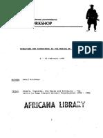 Migrant Mapulana People