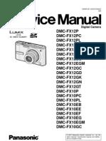 Panasonic Dmc-fx10, Fx12