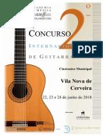 Concurso Internacional de Guitarra 2018 PT ING
